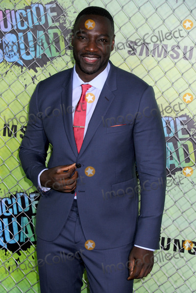 Adewale Akinnuoye-Agbaje Photo - Photo by Dennis Van TinestarmaxinccomSTAR MAX2016ALL RIGHTS RESERVEDTelephoneFax (212) 995-11968116Adewale Akinnuoye-Agbaje at the premiere of Suicide Squad(NYC)