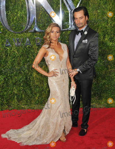 ANGEL REED Photo - June 7 2015 - New York NY - Angel Reed and Constantine MaroulisAmerican Theatre Wings 69th Annual Tony Awards at Radio City Music HallPhoto Credit Demis MaryannakisStar Max