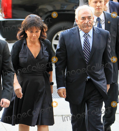 Anne Sinclair Photo - Photo by Jackson Leestarmaxinccom2011ALL RIGHTS RESERVEDTelephoneFax (212) 995-119682311Dominique Strauss-Kahn and wife Anne Sinclair arrive at NY Criminal Court(NYC)