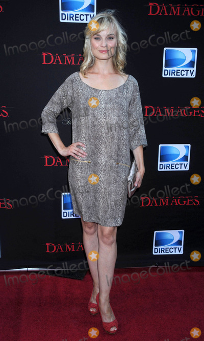 Hannah Yelland Photo - Photo by Dennis Van Tinestarmaxinccom201162911Hannah Yelland at the Season 4 premiere of Damages(NYC)