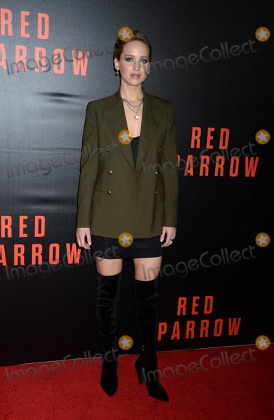 Jennifer Lawrence Photo - Photo by Dennis Van TinestarmaxinccomSTAR MAX2018ALL RIGHTS RESERVEDTelephoneFax (212) 995-119621518Jennifer Lawrence at a screening of Red Sparrow in Washington DC
