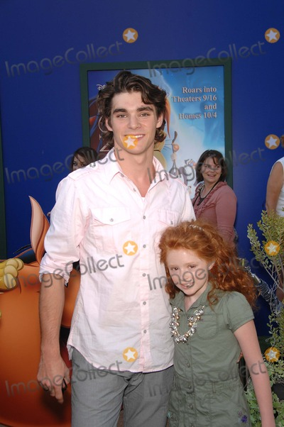 Lacianne Carriere Photo - RJ Mitte and Lacianne Carriere during the premiere Walt Disney Studios re-release of the THE LION KING 3D held at the El Capitan Theatre on August 27 2011 in Los AngelesPhoto Michael Germana Star Max