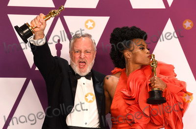 Black Panther Photo - Photo by Doug PetersstarmaxinccomSTAR MAXCopyright 2019ALL RIGHTS RESERVEDTelephoneFax (212) 995-119622419Jay R Hart and Hannah Beachler winners of the Best Production Design Awards for Black Panther at the 91st Annual Academy Awards (Oscars) presented by the Academy of Motion Picture Arts and Sciences(Hollywood CA USA)