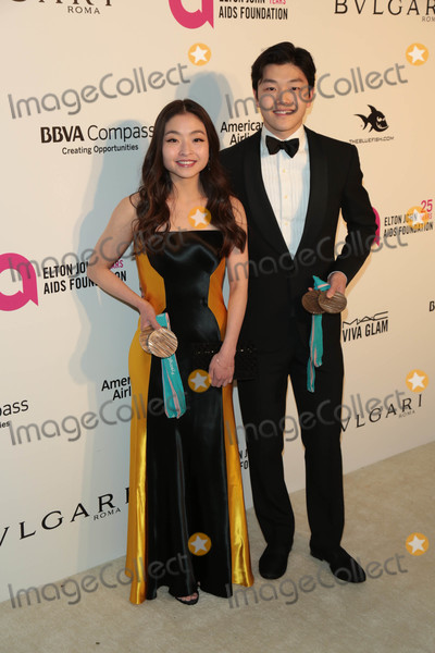 Alex Shibutani Photo - Photo by gotpapstarmaxinccomSTAR MAX2018ALL RIGHTS RESERVEDTelephoneFax (212) 995-11963418Maia Shibutani and Alex Shibutani at The 26th Annual Elton John AIDS Foundations Academy Awards Viewing Party in West Hollywood CA