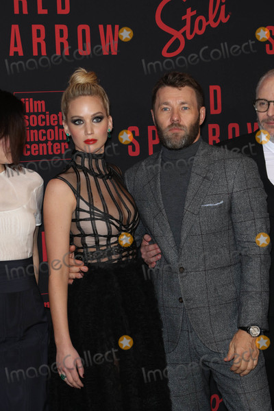 Jennifer Lawrence Photo - Photo by John NacionstarmaxinccomSTAR MAX2018ALL RIGHTS RESERVEDTelephoneFax (212) 995-119622618Jennifer Lawrence and Joel Edgerton at the premiere of Red Sparrow in New York City