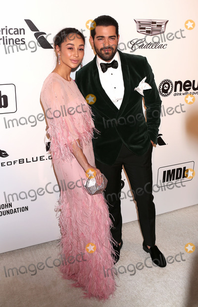 Cara Santana Photo - Photo by REWestcomstarmaxinccomSTAR MAXCopyright 2019ALL RIGHTS RESERVEDTelephoneFax (212) 995-11962242019Cara Santana and Jesse Metcalfe at the 27th Annual Elton John AIDS Foundation Academy Awards Viewing Party(West Hollywood CA)