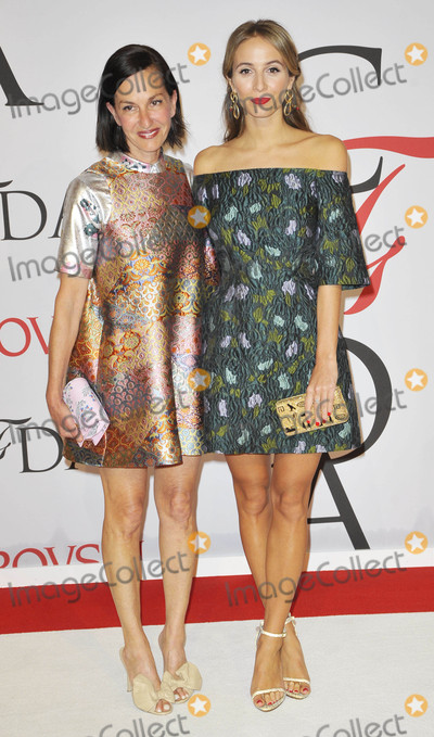 Cynthia Rowley Photo - Photo by Patricia SchleinstarmaxinccomSTAR MAX2015ALL RIGHTS RESERVEDTelephoneFax (212) 995-11966115Cynthia Rowley and Harley Viera-Newton at the 2015 CFDA Fashion Awards(NYC)