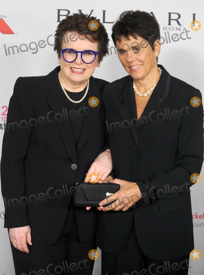 Billie Jean King Photo - Photo by Dennis Van TinestarmaxinccomSTAR MAXCopyright 2017ALL RIGHTS RESERVEDTelephoneFax (212) 995-119611717Billie Jean King and Ilana Kloss at The Elton John AIDS Foundations Annual Fall Gala in New York City(NYC)