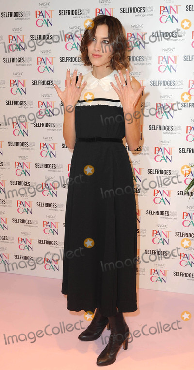 Alexa Chung Photo - Photo by KGC-246starmaxinccomSTAR MAXCopyright 2015ALL RIGHTS RESERVEDTelephoneFax (212) 995-1196111115Alexa Chung at the launch of Paint Can Polish by Nails Inc at Selfridges in the Trafford Centre(Manchester England UK)