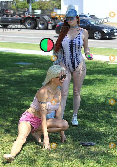 Phoebe Price Photo - Photo by SMXRFstarmaxinccomSTAR MAX2018ALL RIGHTS RESERVEDTelephoneFax (212) 995-119653118Angelique Morgan and Phoebe Price are seen in Los Angeles CA