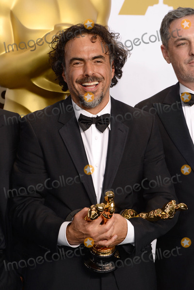Alejandro GInarritu Photo - Photo by PDstarmaxinccomSTAR MAX2015ALL RIGHTS RESERVEDTelephoneFax (212) 995-119622215Alejandro G Inarritu in the Press Room at the 2015 Oscars held at the Kodak Theatre Hollywood(Los Angeles USA)