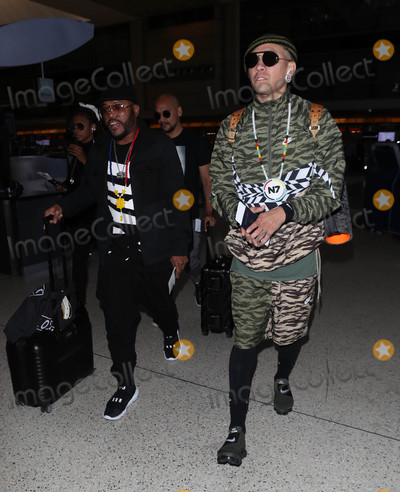 Black-Eyed Peas Photo - Photo by SMXRFstarmaxinccomSTAR MAX2018ALL RIGHTS RESERVEDTelephoneFax (212) 995-11968318apldeap and Taboo of the Black Eyed Peas is seen at LAX Airport in Los Angeles CA