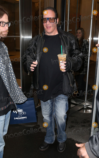 Andrew Dice Clay Photo - Photo by KGC-146starmaxinccomSTAR MAXCopyright 2016ALL RIGHTS RESERVEDTelephoneFax (212) 995-11964416Andrew Dice Clay is seen leaving the SiriusXM Satellite Radio Studios(NYC)