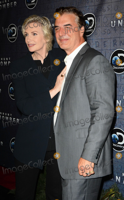 Chris Noth Photo - Photo by Patricia SchleinstarmaxinccomSTAR MAXCopyright 2017ALL RIGHTS RESERVEDTelephoneFax (212) 995-119671917Jane Lynch and Chris Noth at the premiere of Discoverys Manhunt Unabomber in New York City(NYC)