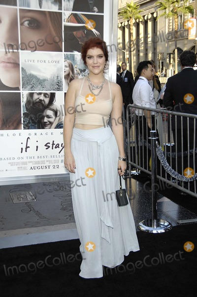 Ali Milner Photo - Photo by Michael GermanastarmaxinccomSTAR MAX2014ALL RIGHTS RESERVEDTelephoneFax (212) 995-119682014Ali Milner at the premiere of If I Stay(Los Angeles CA)