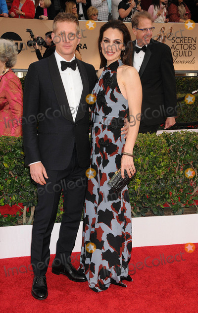 Annie Parisse Photo - Photo by KGC-136-JRstarmaxinccomSTAR MAX2016ALL RIGHTS RESERVEDTelephoneFax (212) 995-119613016Paul Sparks and Annie Parisse at the 22nd Annual Screen Actors Awards held at the Shrine Auditorium(Los Angeles CA)