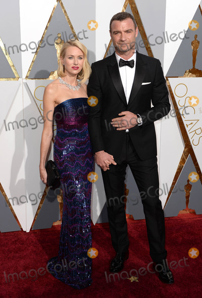 The 88 Photo - Photo by PDstarmaxinccomSTAR MAXCopyright 2016ALL RIGHTS RESERVEDTelephoneFax (212) 995-119622816Naomi Watts and Liev Schreiber at the 88th Annual Academy Awards (Oscars)(Hollywood CA USA)
