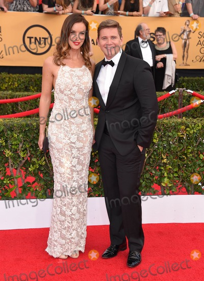 Allen Leech Photo - Photo by KGC-11starmaxinccomSTAR MAX2015ALL RIGHTS RESERVEDTelephoneFax (212) 995-119612515Charlie Webster and Allen Leech at the 21st Annual Screen Actors Guild (SAG) Awards(Los Angeles CA)