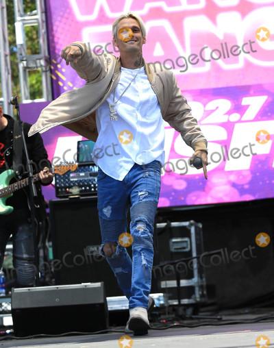 Aaron Carter Photo - Photo by gotpapstarmaxinccomSTAR MAX2017ALL RIGHTS RESERVEDTelephoneFax (212) 995-119651317Aaron Carter at 1027 KIIS FMs 2017 Wango Tango Concert in Carson CA