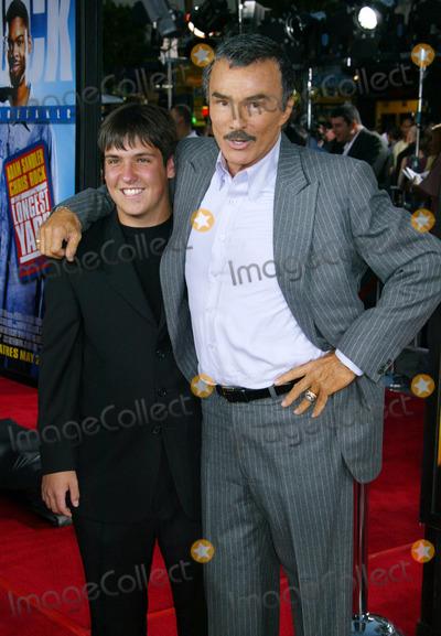 Burt Reynolds Photo - Photo by NPXstarmaxinccom200551905Burt Reynolds and son at the premiere of The Longest Yard(Hollywood CA)