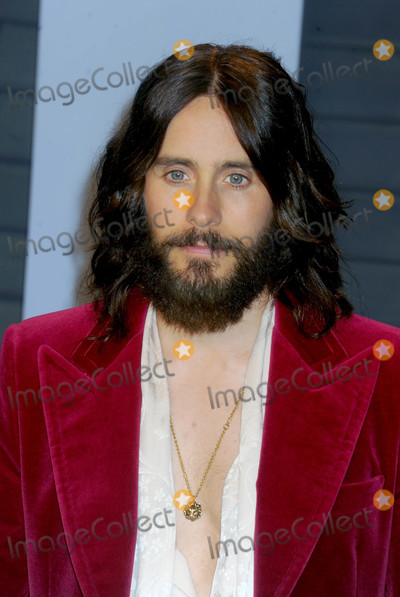 Jared Leto Photo - Photo by Dennis Van TinestarmaxinccomSTAR MAX2018ALL RIGHTS RESERVEDTelephoneFax (212) 995-11963418Jared Leto at The 2018 Vanity Fair Oscar Party in Beverly Hills CA