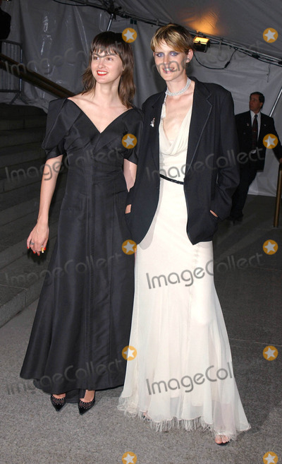 Trish Goff Photo - Photo by Walter WeissmanSTAR MAX Inc - copyright 200342803Stella Tennant and Trish Goff at the Goddess Exhibition of the Costume Institutes Spring 2003 Gala at the Metropolitian Museum of Art(NYC)