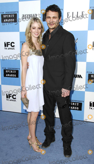 Ahna OReilly Photo - Photo by Michael Germanastarmaxinccom200722407James Franco and Ahna OReilly at the Independent Spirit Awards(Santa Monica CA)