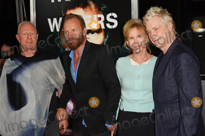 Sting Photo - Photo by Patricia SchleinstarmaxinccomSTAR MAX2015ALL RIGHTS RESERVEDTelephoneFax (212) 995-119692815Bobby Sager Sting Trudy Styler and Chris Botti at the premiere of Roger Waters The Wall(NYC)