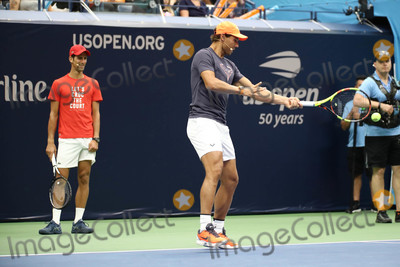Novak Djokovic Photo - Photo by John NacionstarmaxinccomSTAR MAX2018ALL RIGHTS RESERVEDTelephoneFax (212) 995-119682518Novak Djokovic and Rafael Nadal at the 2018 Arthur Ashe Kids Day in New Yor City