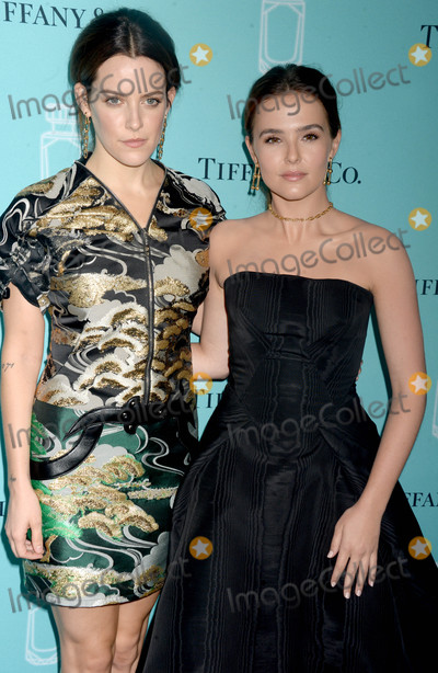 Zoey Deutch Photo - Photo by Dennis Van TinestarmaxinccomSTAR MAX2017ALL RIGHTS RESERVEDTelephoneFax (212) 995-11969617Riley Keough and Zoey Deutch at a Tiffany  Co Fragrance Launch in New York City