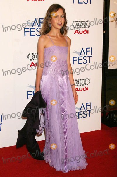 Allegra Versace Photo - Photo by NPXstarmaxinccom200611106Allegra Versace at the premiere of Bobby(Los Angeles CA)Not for syndication in France