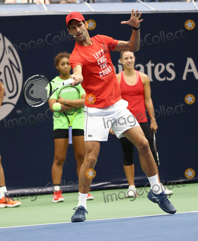 Novak Djokovic Photo - Photo by John NacionstarmaxinccomSTAR MAX2018ALL RIGHTS RESERVEDTelephoneFax (212) 995-119682518Novak Djokovic at the 2018 Arthur Ashe Kids Day in New Yor City