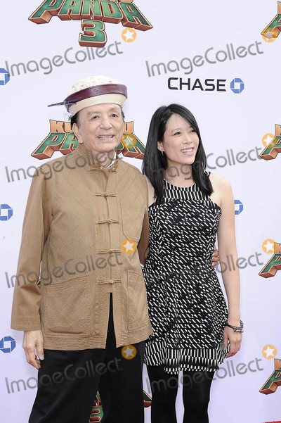 April Hong Photo - Photo by Michael GermanastarmaxinccomSTAR MAX2016ALL RIGHTS RESERVEDTelephoneFax (212) 995-119611616James Hong and April Hong at the premiere of Kung Fu Panda 3(Los Angeles CA)