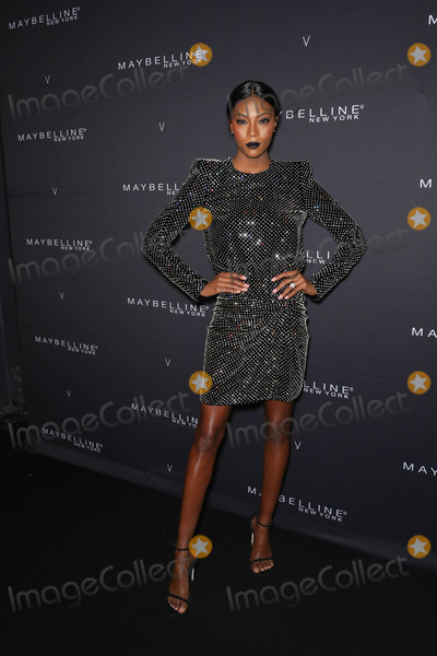 Afiya Bennett Photo - Photo by John NacionstarmaxinccomSTAR MAX2018ALL RIGHTS RESERVEDTelephoneFax (212) 995-119621118Afiya Bennett at The Maybelline New York x V Magazine FW18 Fashion Week Party in New York City