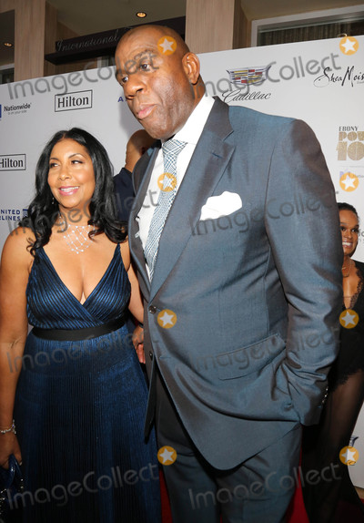 Earvin Magic Johnson Photo - Photo by gotpapstarmaxinccomSTAR MAX2017ALL RIGHTS RESERVEDTelephoneFax (212) 995-119612117Earvin Magic Johnson and Cookie Johnson are seen at Ebonys Power 100 Gala in New York City
