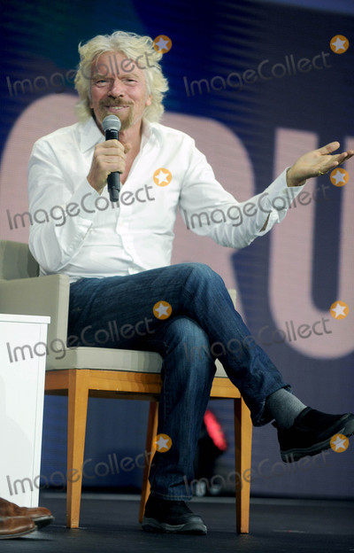 Richard Branson Photo - Photo by Dennis Van TinestarmaxinccomSTAR MAX2017ALL RIGHTS RESERVEDTelephoneFax (212) 995-1196102817Richard Branson at The Global Synergy Forum in New York City