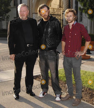 Johnny Lewis Photo - Photo by Michael Germanastarmaxinccom200982309William Lucking Ryan Hurst and Johnny Lewis at the season premiere of Sons of Anarchy(Los Angeles CA)