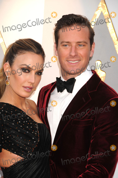 Armie Hammer Photo - Photo by GalaxystarmaxinccomSTAR MAXCopyright 2018ALL RIGHTS RESERVEDTelephoneFax (212) 995-11963418Elizabeth Chambers and Armie Hammer at the 90th Annual Academy Awards (Oscars) presented by the Academy of Motion Picture Arts and Sciences(Hollywood CA USA)