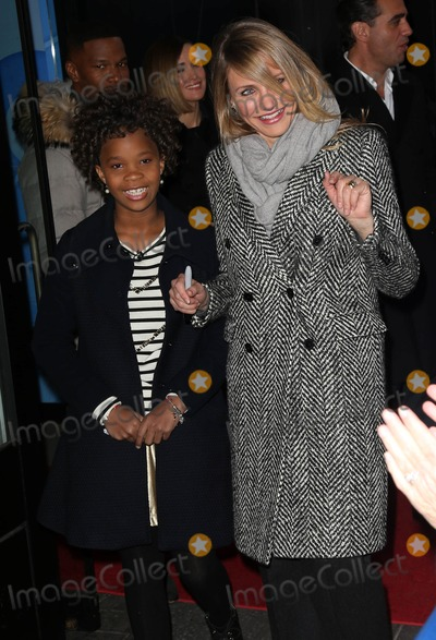 Cameron Diaz Photo - Photo by KGC-146starmaxinccomSTAR MAX2014ALL RIGHTS RESERVEDTelephoneFax (212) 995-119612414Quvenzhane Wallis and Cameron Diaz are seen at ABC Television Studios for an appearance on Good Morning America(NYC)