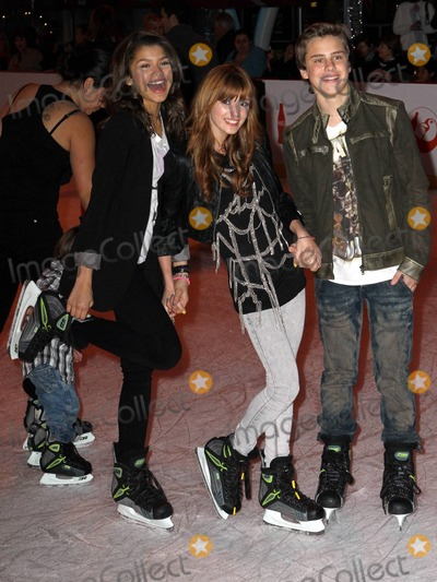 Bella Thorne Photo - Bella Thorne and Zendaya Coleman at Disney On Ice Lets Celebrate premiere at LA Live Los Angeles CA 121510