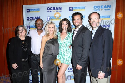 Adam Goldstein Photo - Royal Caribbeans SVP Betsy ORourke Charles Malik Whitfield Jenny McCarthy Courtney Henggeler Scott Elrod and Royal Caribbean International president and CEO Adam Goldstein at the exclusive premiere of The Allure of Love and Royal Reunion aboard Allure of the Seas a new short film series developed by Royal Caribbean and directed by Jenny McCarthy and James Brolin respectively Ft Lauderdale FL 031311