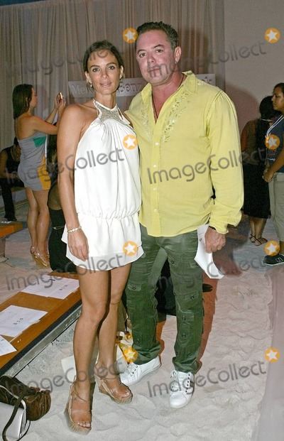 Shareef Malnik Photo - Actress Gabrielle Anwar and Shareef Malnik attend the Marysia Swimwear fashion show part of the Mercedes-Benz Fashion Week Swim 2011 at The  Raleigh Hotel in Miami Beach FL 71910Byline credit TV usage web usage or linkback must read MAVRIXONLINECOM  Tel 305 542 9275 or  954 698 6777