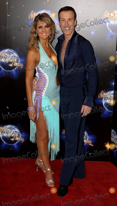 Erin Boag Photo - Erin Boag and Anton Du Beke at the premiere of Strictly Come Dancing London UK 7th September 2011