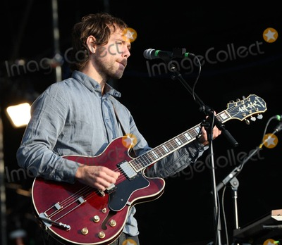 Aaron Dessner Photo - Aaron Dessner of The National performs at Day Two of the Reading Festival 2011 Reading UK 27th August 2011