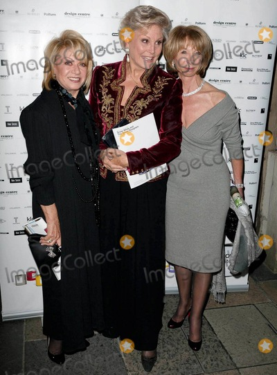 Angela Rippon Photo - Elaine Paige Angela Rippon and Helen Worth arrive at the post show gala dinner following the charity pantomime production of Snow White and the Seven Designers held at the Banqueting House Whitehall  The special panto is to benefit Dementia UK London UK 101410