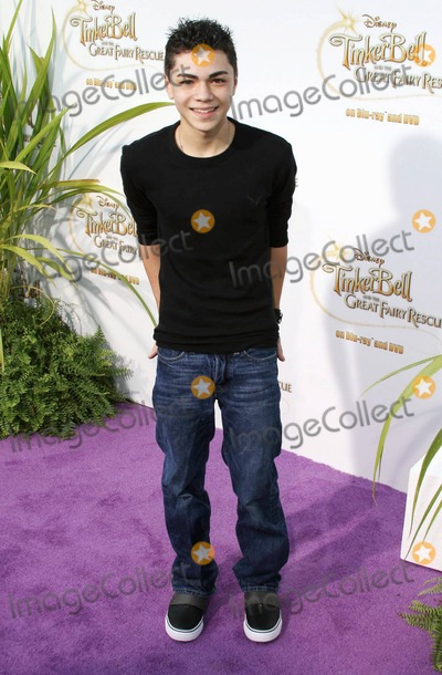 Adam Irigoyen Photo - Adam Irigoyen poses on the purple carpet after arriving for a special Picnic In The Park premiere of Tinker Bell and the Great Fairy Rescue held at La Cienega Park Los Angeles CA 082810
