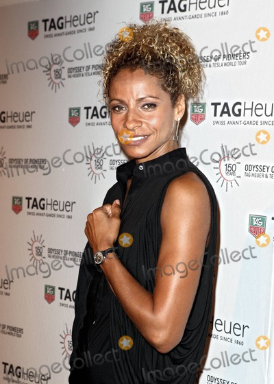 Michelle Hurd Photo - American actress Michelle Hurd from the AE Network TV show The Glades attends the TAG Heuer 150th Anniversary and Odyssey of Pioneers Tour Celebration stop in Miami Beach FL  081910