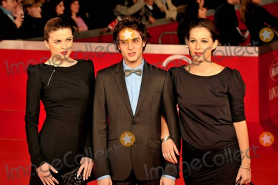 Cecile Cassel Photo - Cecil Cassel Benjamin Siksou and Andrey Estrougo at the premiere of LEILA at the 5th International Rome Film Festival in Rome Italy 103010