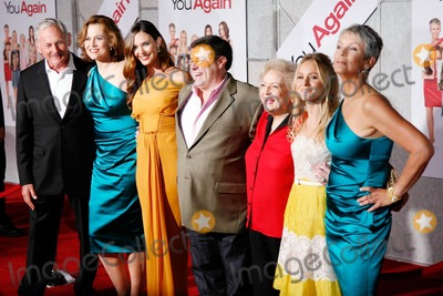 Andy Fickman Photo - (L-R) Victor Garber Sigourney Weaver Odette Yustman Andy FIckman Betty White Kristen Bell and Jamie Lee Curtis at the You Again premiere in Los Angeles CA 92210