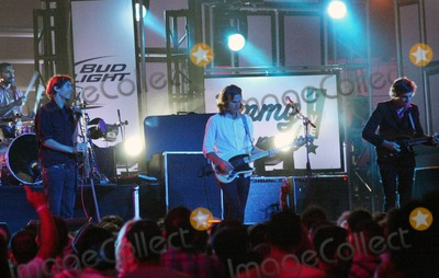 Christian Mazzalai Photo - Grammy Award-winning alternative rock band Phoenix (singer Thomas Mars bassist Deck DArcy guitarists Laurent Brancowitz and Christian Mazzalai) from Versailles France perform live on Jimmy Kimmel Live Los Angeles CA 092010